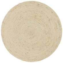 Acon Shiva Jute And Silk 120cm Round