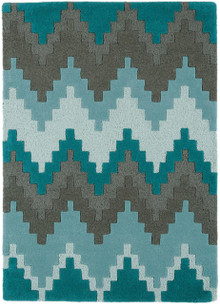 Asiatic Cuzzo Designer Teal Wool