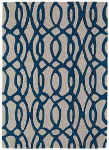 Asiatic Wire Designer Blue Wool