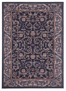 Rose 7520 Traditional Blue Rug