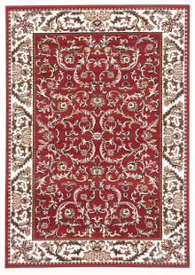 Rose 7520 Traditional Red Rug