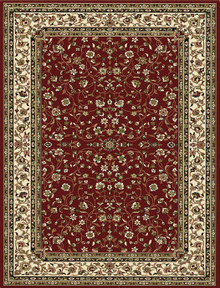 Kensington 7146 Red Traditional Rug