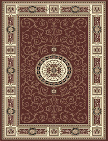 Kensington 7647 Brown Traditional Rug