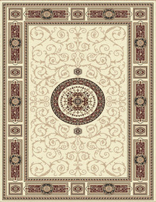 Kensington 7647 Cream Traditional Rug