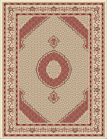 Kensington 7650 Traditional Cream Rug