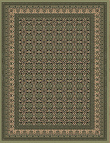 Regal 8004 Green Classic Rug