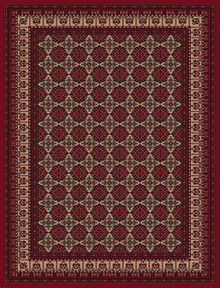 Regal 8004 Red Classic Rug