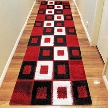 Amore Luxury 1206 Red 80x300cm Shaggy Runner