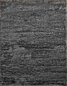Cascade Soft Dark Grey Shaggy Rug