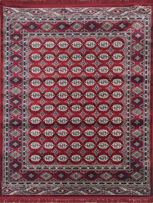 Bentley Traditional Red Rug