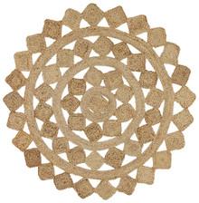 Acon Tessellate Jute 150cm Round Rug