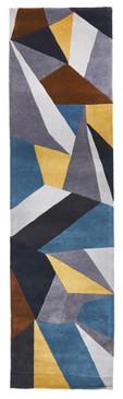 Belrose Plush 902 Grey 80x300cm Wool Runner