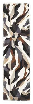 Belrose Plush 903 Brown 80x400cm Wool Runner