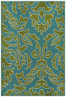 Nova 6504 Green Outdoor Rug
