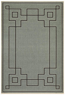 Nova 6507 Teal Outdoor Rug