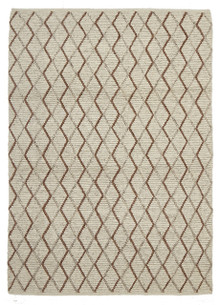 Ortiz 7502 Copper Viscose And Wool Plush Rug