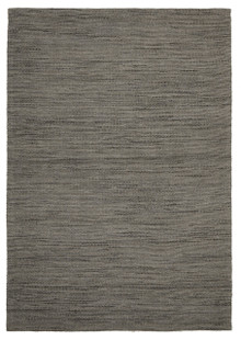 Ortiz 7504 Grey Wool And Jute Rug