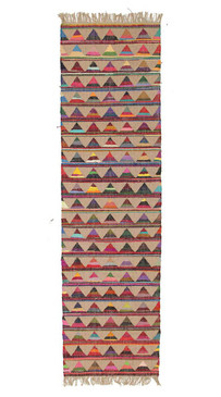 Alpine jute And Cotton Bunting 80x300cm Runner
