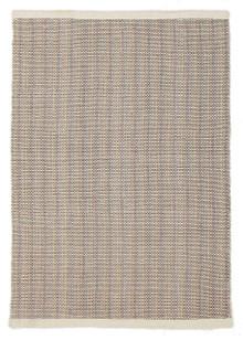Cuba Flat Weave Wool White Rug