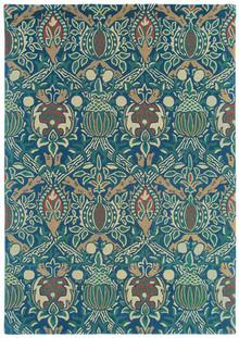 William Morris Granada Indigo Designer Wool