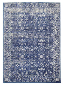 Evoke 252 Navy Washed Rug