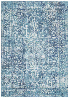 Evoke 253 Washed Blue Rug