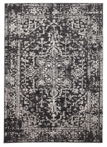 Evoke 253 Washed Charcoal Rug