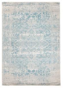 Evoke 253 White Blue Rug