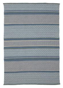 Copenhagen 8501 Wool And Viscose Blue Rug