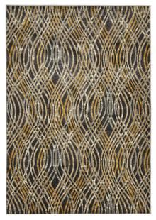 Lucci 852 Charcoal Modern Rug