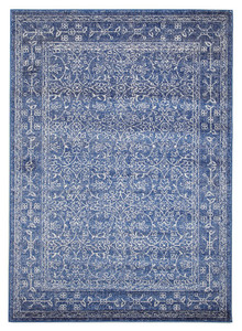 Evoke 258 Navy Wash Rug