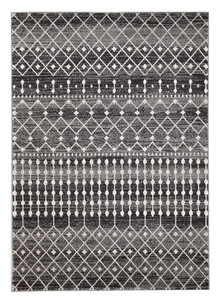 Evoke 260 Black Wash Rug