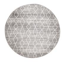 Evoke 257 Silver Wash 150cm Round Rug