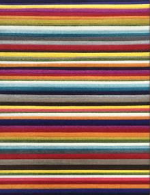 Boutique 958 Multi Stripe Modern Rug