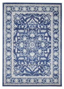 Evoke 261 Navy Wash Rug