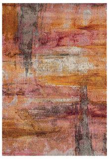 Crystal 1830 Rust Modern Rug