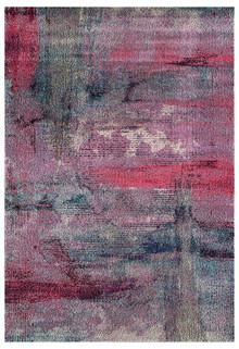 Crystal 1830 Violet Modern Rug