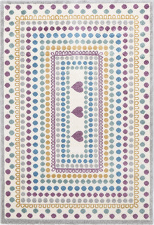 Piccolo 923 Purple Heart Kids Rug