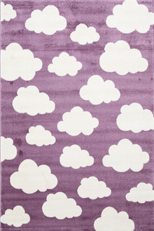 Piccolo 924 Purple Cloud Kids Rug