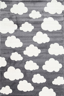 Piccolo 924 Grey Cloud Kids Rug