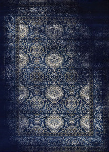 Antique Sahara 100 Navy Traditional Rug