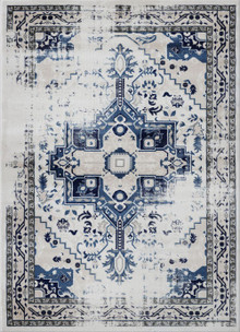 Antique Sahara 102 Blue Traditional Rug