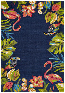 Cabana 591 Navy Outdoor Rug
