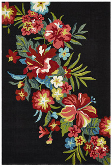 Cabana 592 Black Outdoor Rug