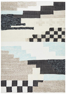 Kingdom 1680 Sky Wool And Cotton Rug