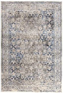 Drift 1742 Blue Washed Effect Rug