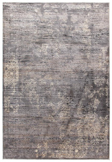 Drift 1743 Grey Washed Effect Rug