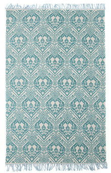 Ascot 5836 Turquoise Cotton Rug