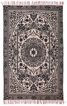 Ascot 5836 Black Cotton Rug