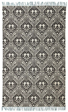 Ascot 5835 Cotton Black Rug